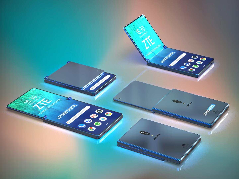 5G smartphone opvouwbaar