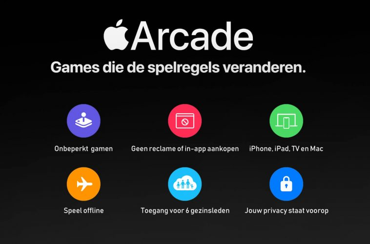 Apple Arcade abonnement onbeperkt gamen