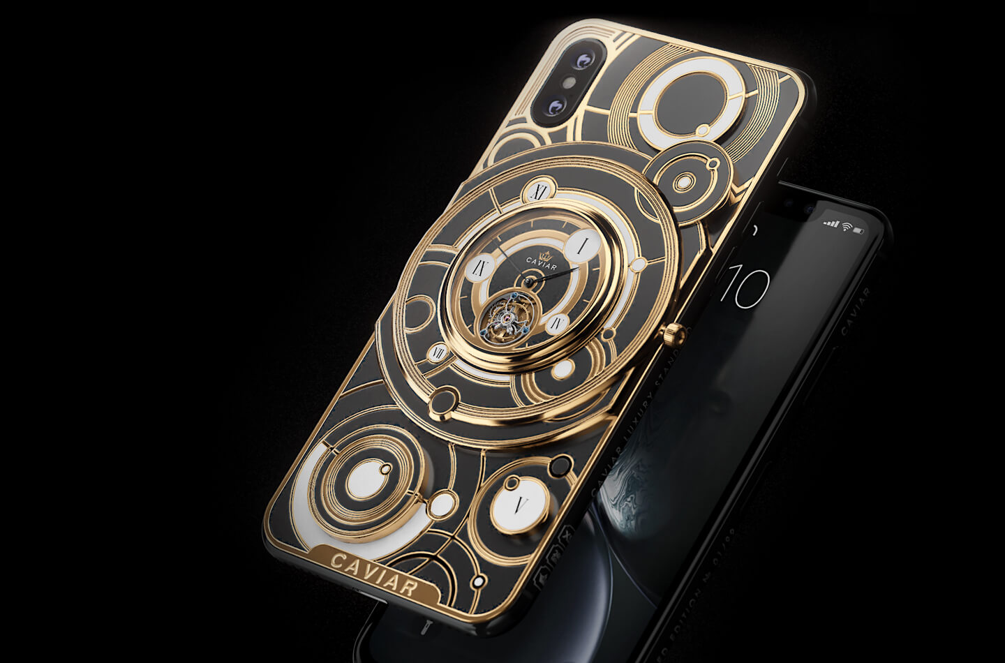 Apple iPhone XS tourbillon Caviar