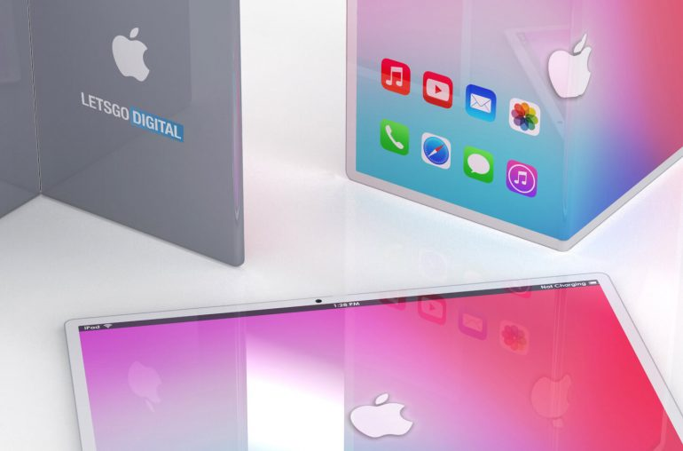 Apple opvouwbare iPad tablet