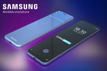 Buigbare telefoon Samsung