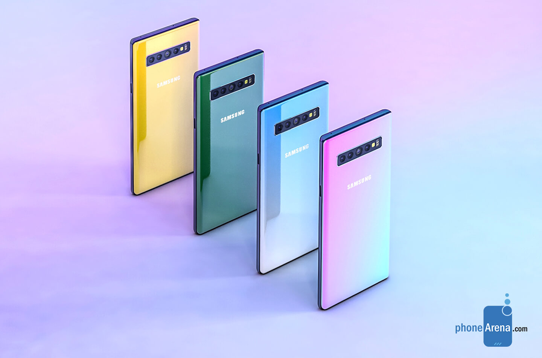 Galaxy Note 10 kleuren