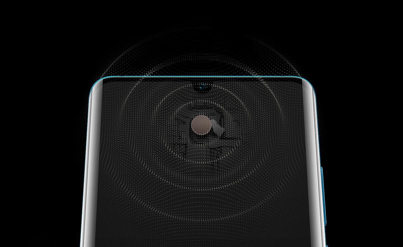 In-display speaker