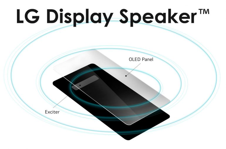 LG Display Speaker