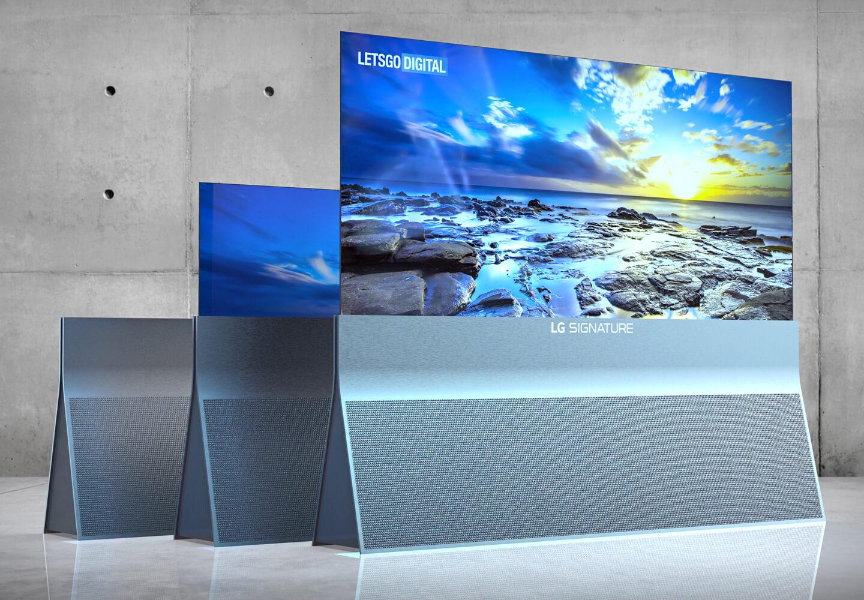 LG TV oprolbaar model