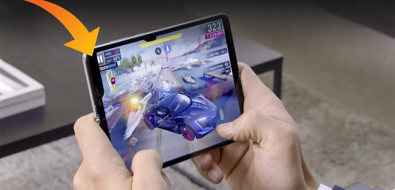 Nadelen opvouwbare telefoon Samsung
