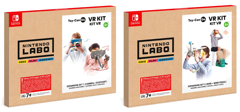 Nintendo Labo VR pakket