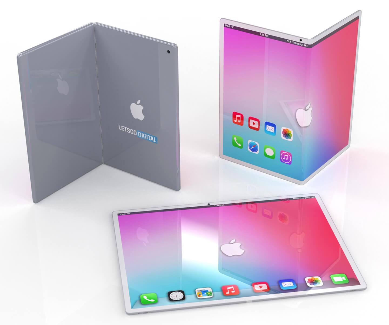 Opvouwbare Apple iPad