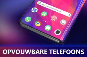 Opvouwbare telefoon: voordelen en nadelen van alle merken