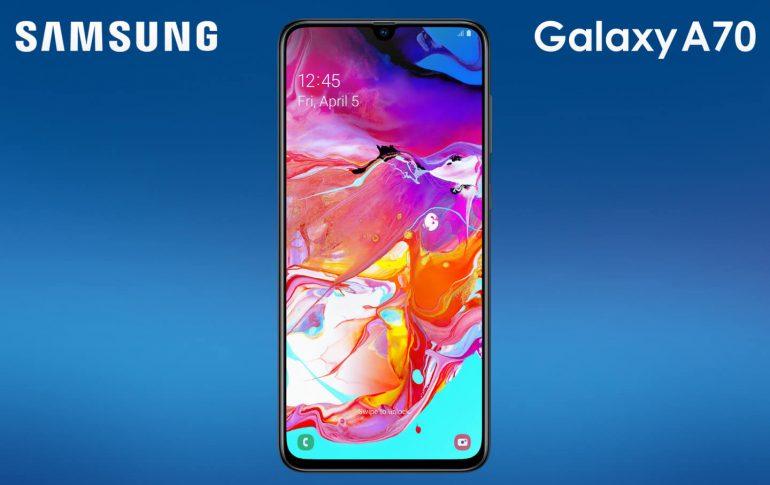 Samsung Galaxy A70 abonnement