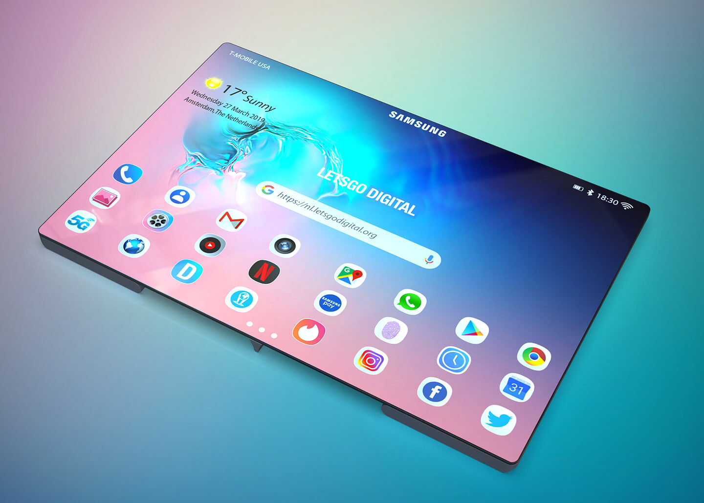 Samsung opvouwbaar model