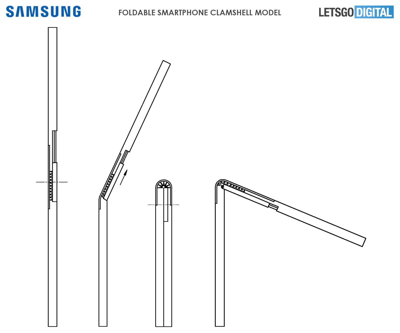 Samsung telefoon clamshell