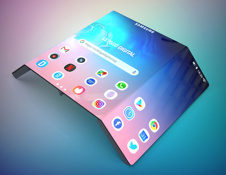 Samsung opvouwbare telefoons