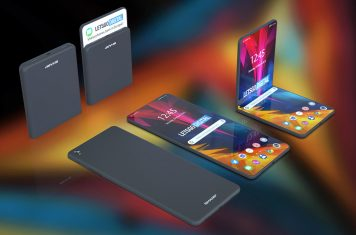 Sharp opvouwbare telefoon