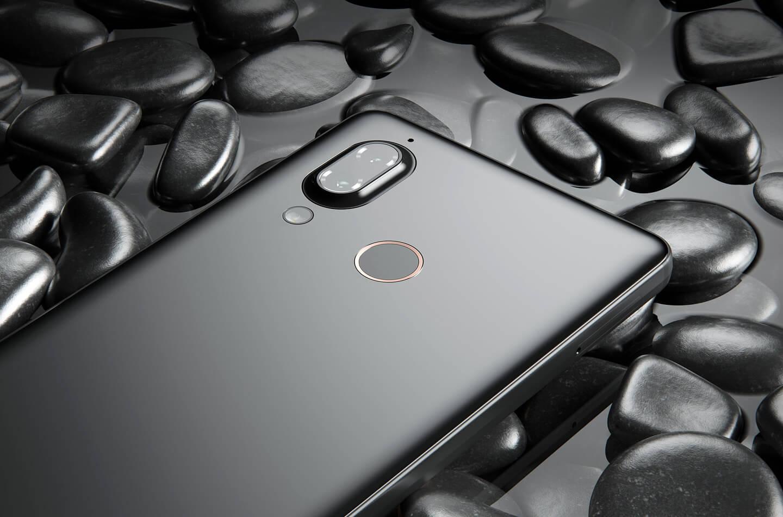 Smartphone met zoom camera