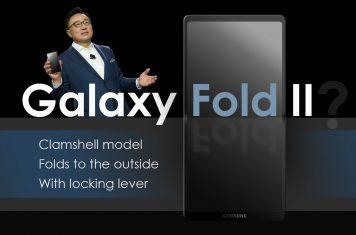 Vouwbare Samsung telefoon