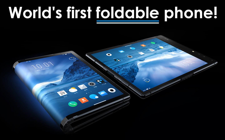 Vouwbare smartphone