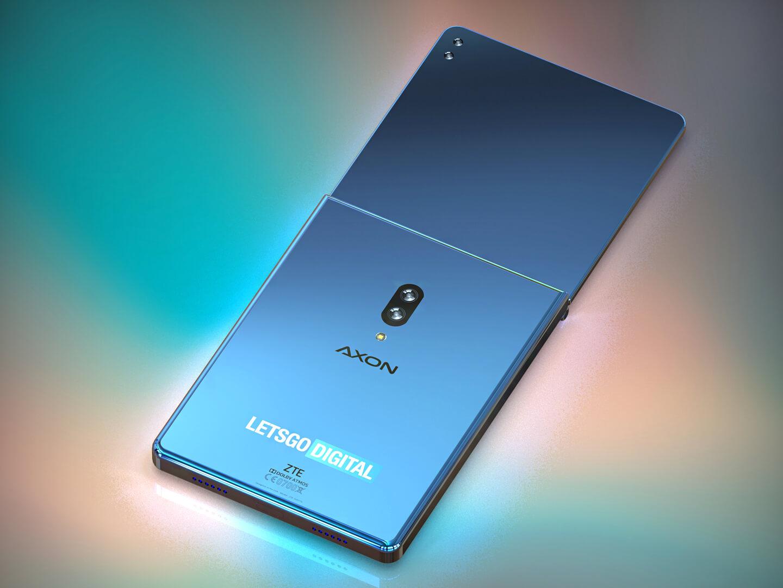 ZTE opvouwbare smartphone