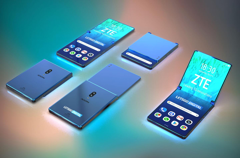 ZTE opvouwbare telefoon