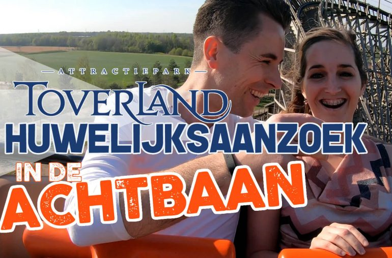 Huwelijksaanzoek achtbaan Toverland