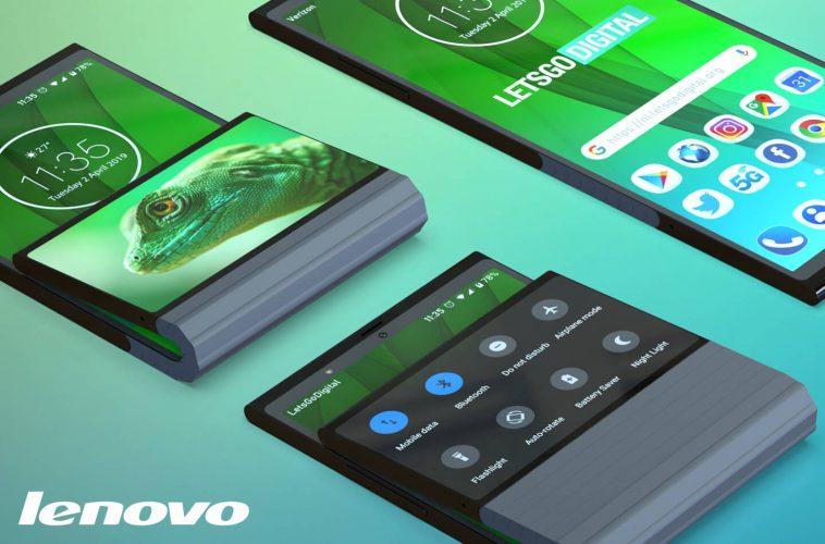 Lenovo opvouwbare smartphone