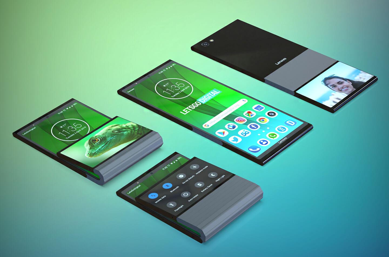 Lenovo opvouwbare telefoon