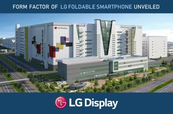 LG opvouwbare telefoon