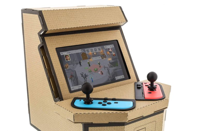 Nintendo Switch mini arcadekast