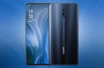 Oppo Reno full-screen smartphone