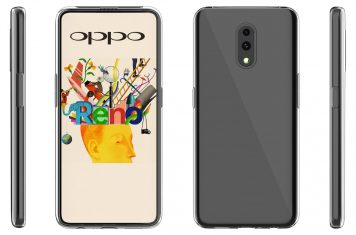 Oppo Reno smartphone pop-up camera