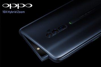 Oppo Reno Zoom smartphone