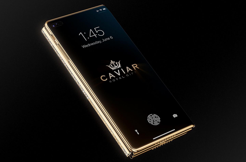 Opvouwbare iPhone Caviar