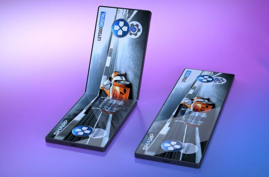 Opvouwbare smartphone gaming handheld