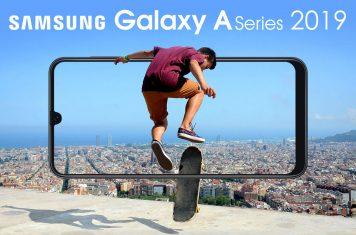 Samsung Galaxy A-series 2019 modellen