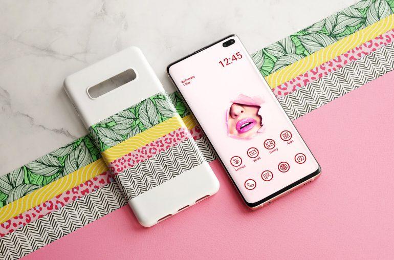 Samsung Galaxy telefoon cover