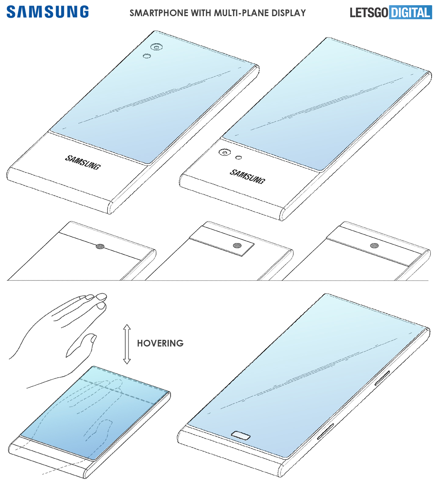 Samsung smartphone display