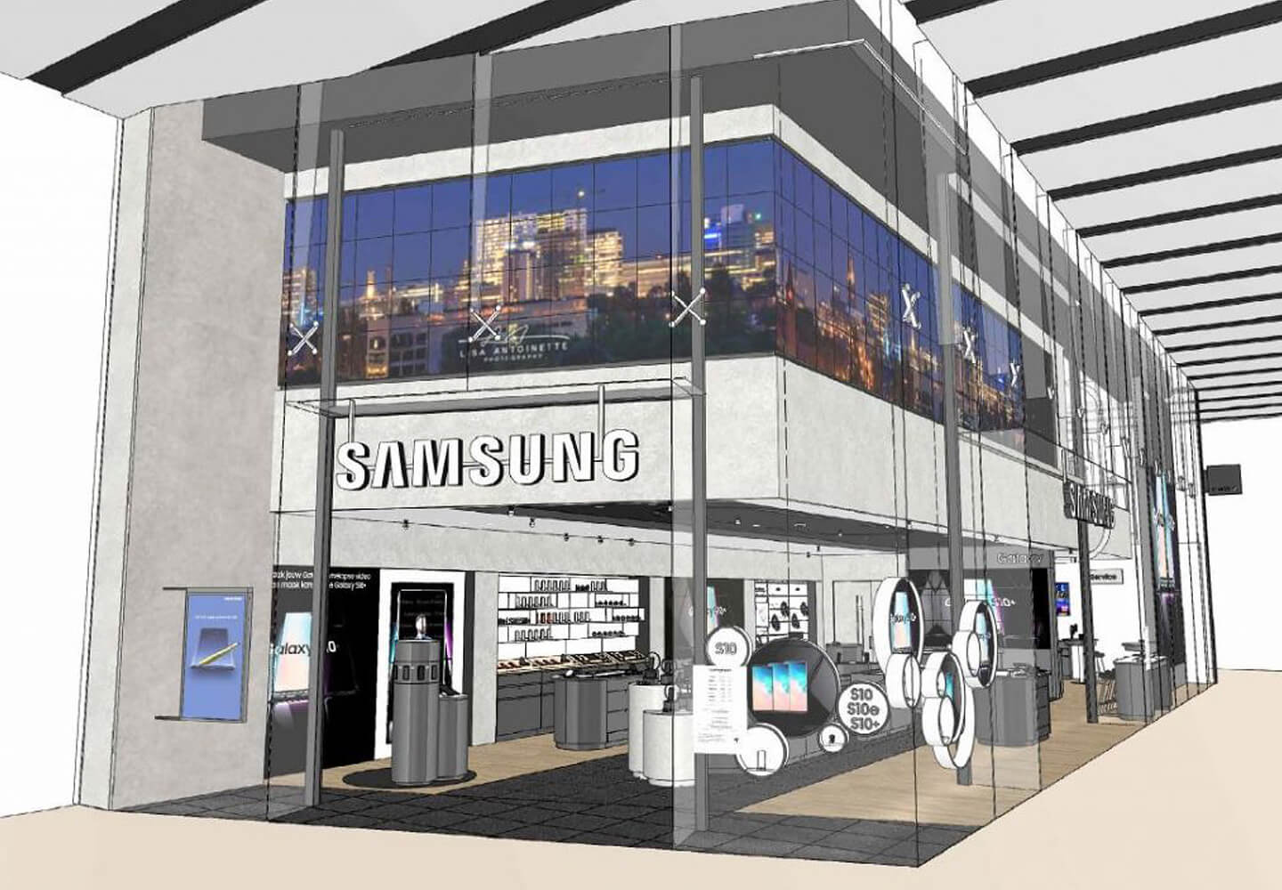 Samsung store The Netherlands