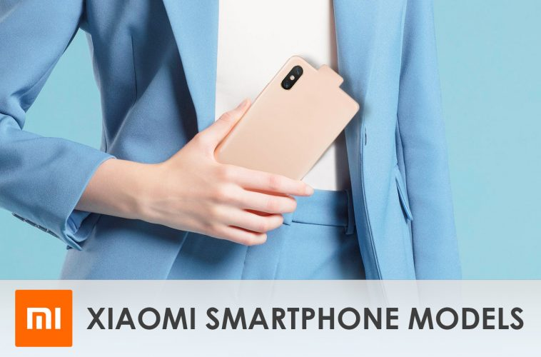Xiaomi smartphone modellen