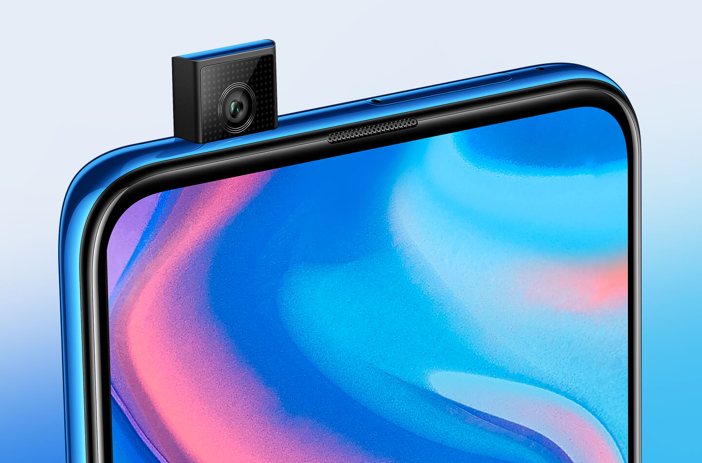 Huawei smartphone pop-up camera