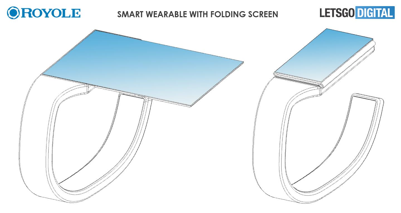 Royole wearable vouwbaar scherm