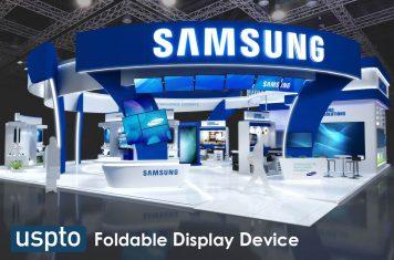 Samsung opvouwbaar display apparaat