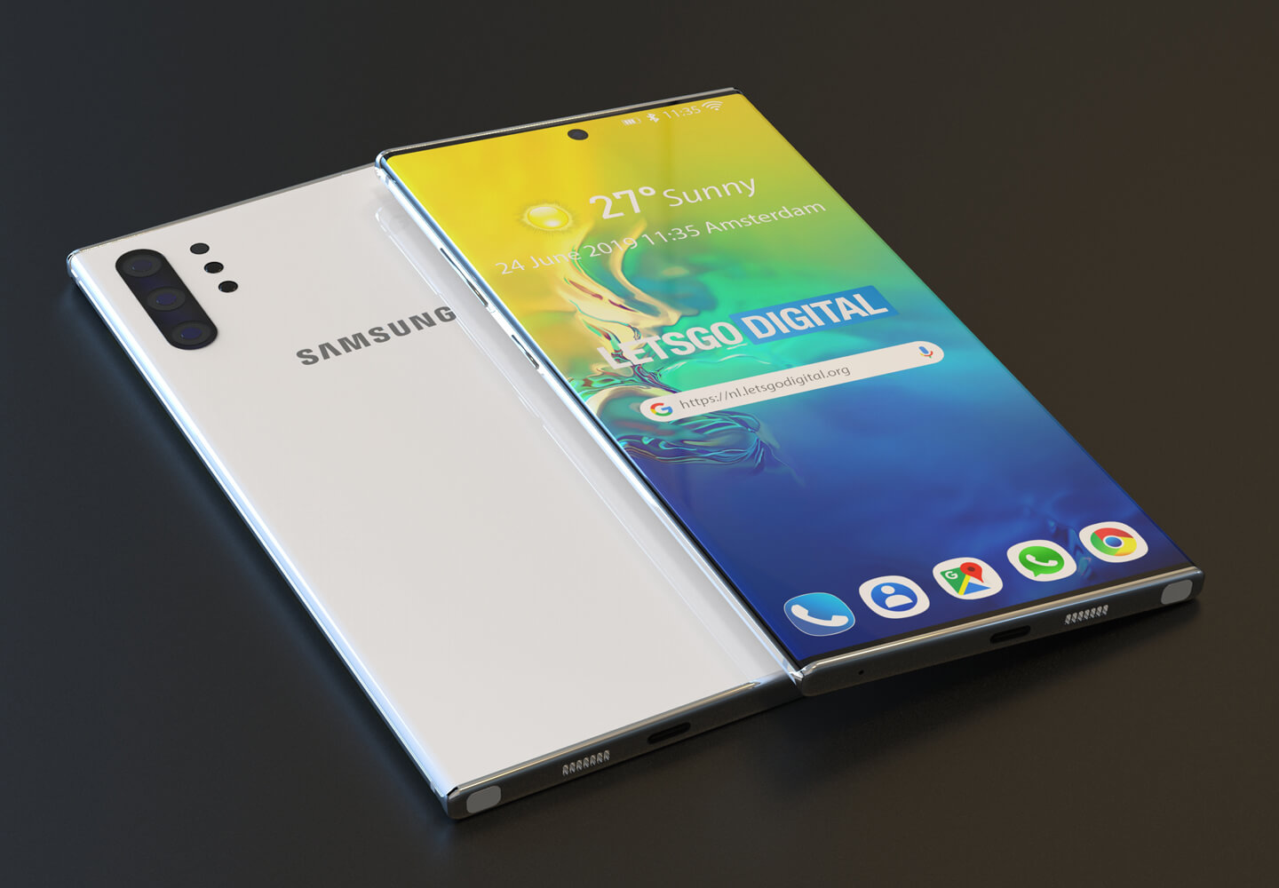 Galaxy Note 10 5G telefoon