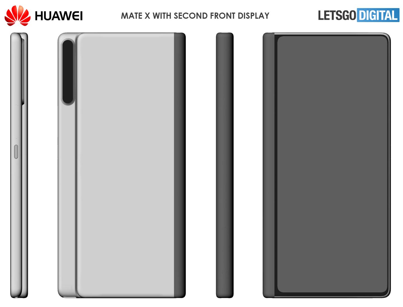 Huawei Mate X 2 opvouwbare smartphone