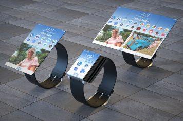 IBM smartwatch vouwt uit tot smartphone én tablet