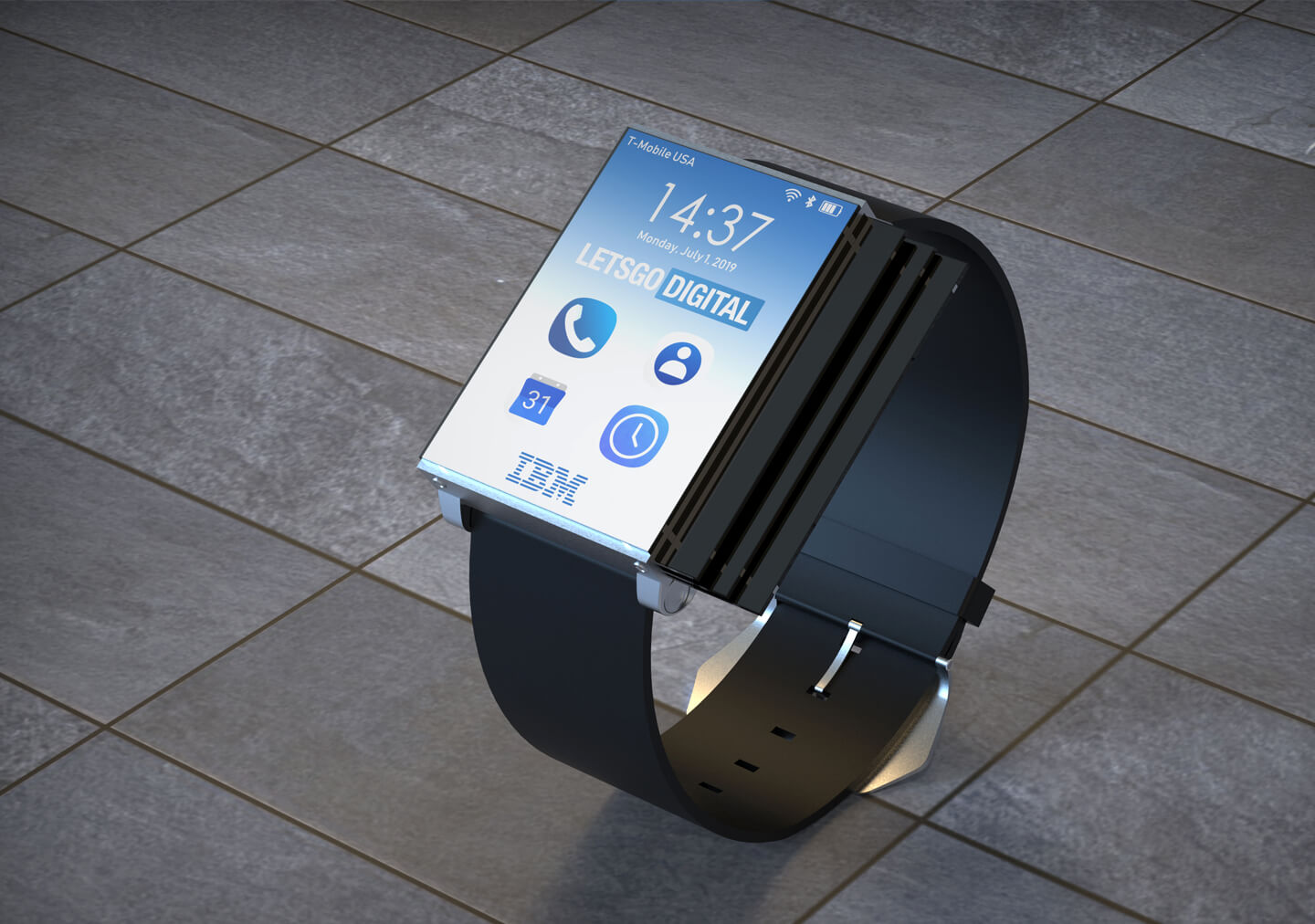 IBM smartwatch