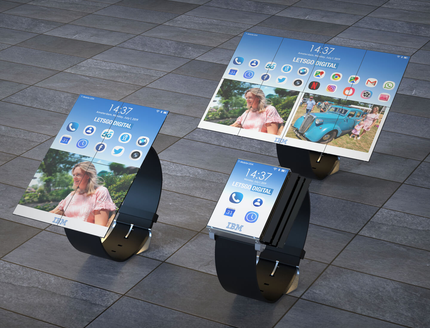 IBM smartwatches