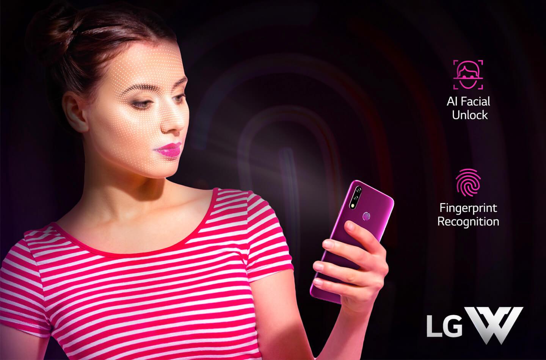 LG W serie telefoons
