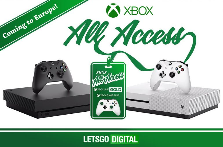 Microsoft Xbox all-access abonnement