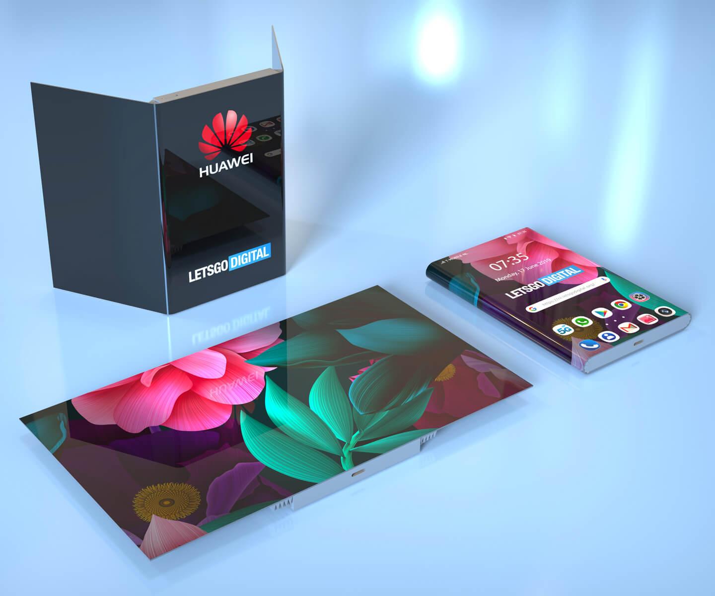Nieuwe opvouwbare smartphone
