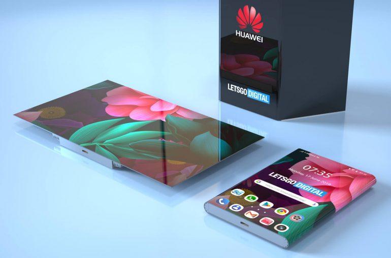 Nieuwe opvouwbare telefoon Huawei